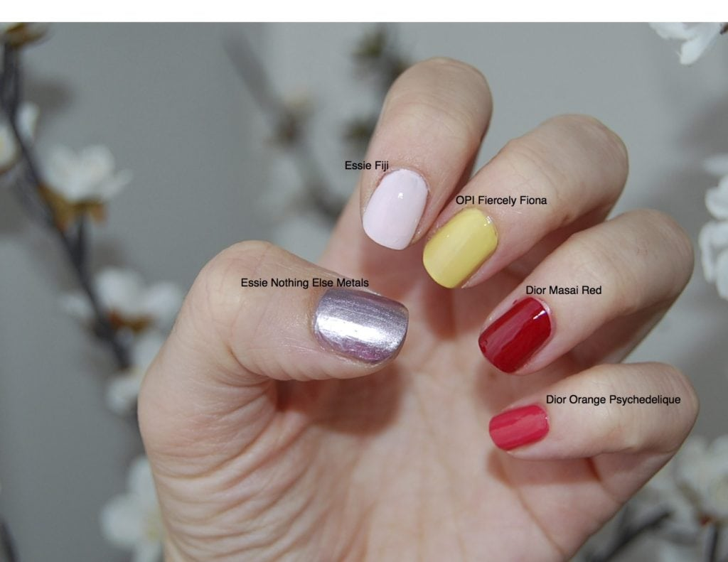Top 5 Summer Nail Polishes – Pretentious Pink